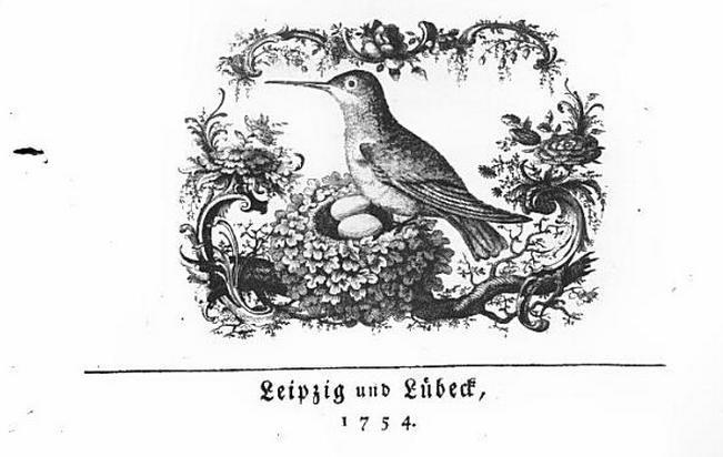 Tesdorpf, 1754